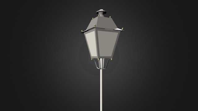 Urban LED light PERIUS 3D Model