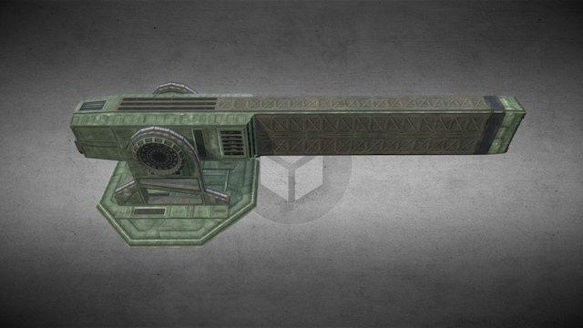 HLG-044 Longspear 3D Model