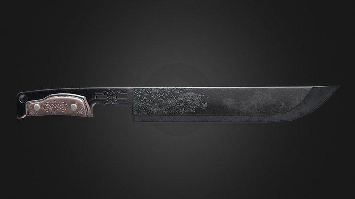 NATA Knife 3D Model