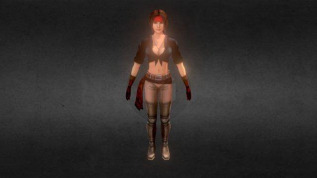 """Snafu"" Velma Barbossa 3D Model"