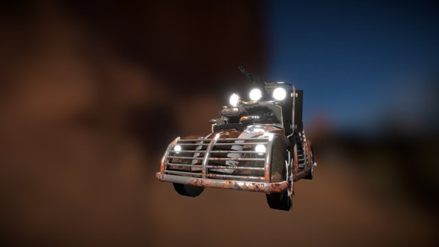 Battlebeetle 3D Model