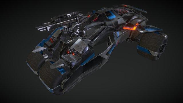 Trycon MKIII 3D Model