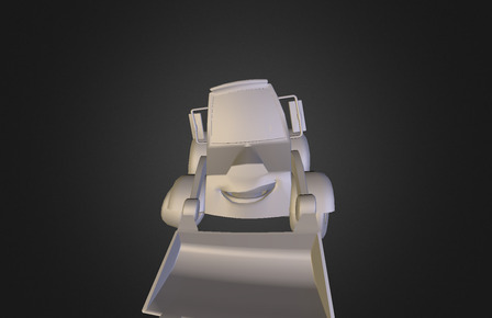 Diggy. Cartoon 3D character. 3D Model