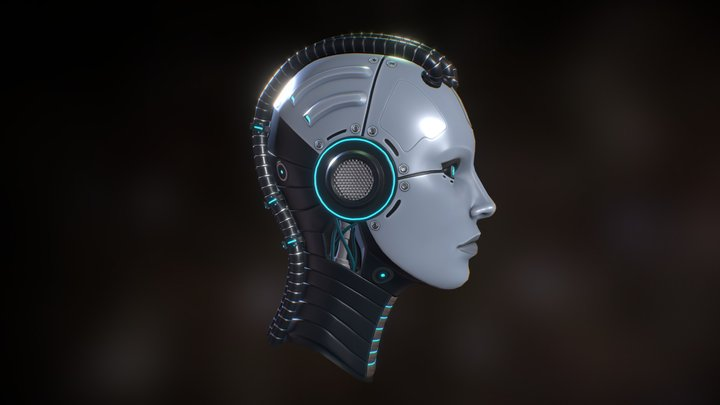 Android Head (WiP) 3D Model