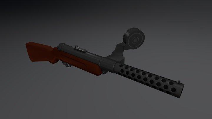 Bergmann MP18 3D Model