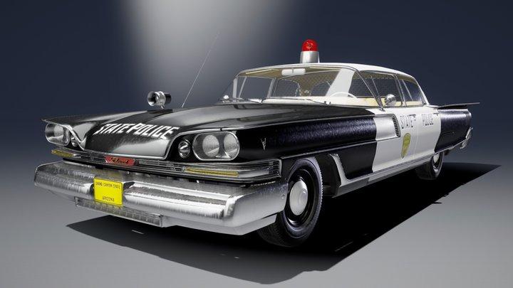1959 Elwood Iroquois Police Cruiser 3D Model