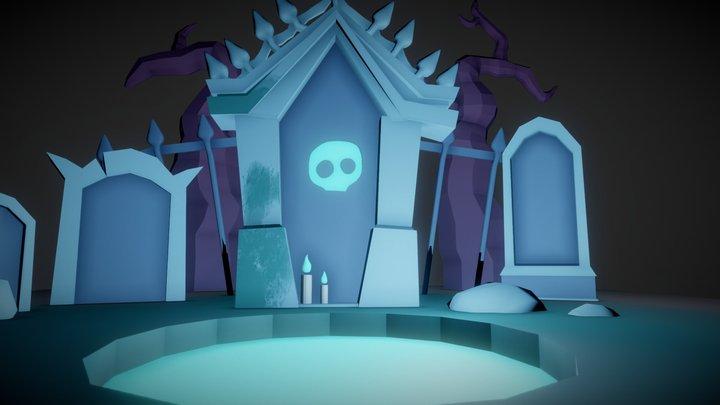 Cementerio 3D Model