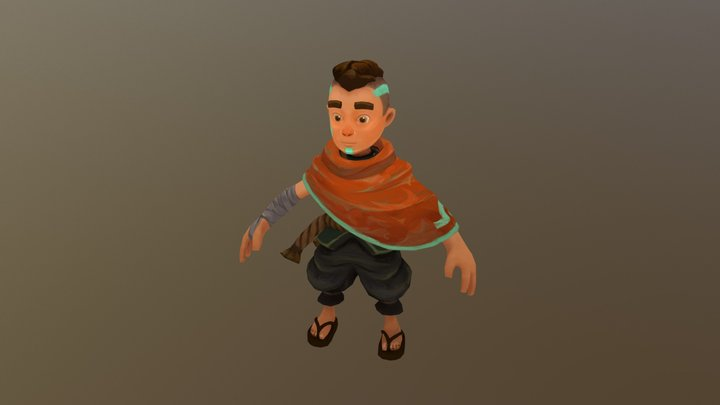 Our hero is born! 3D Model