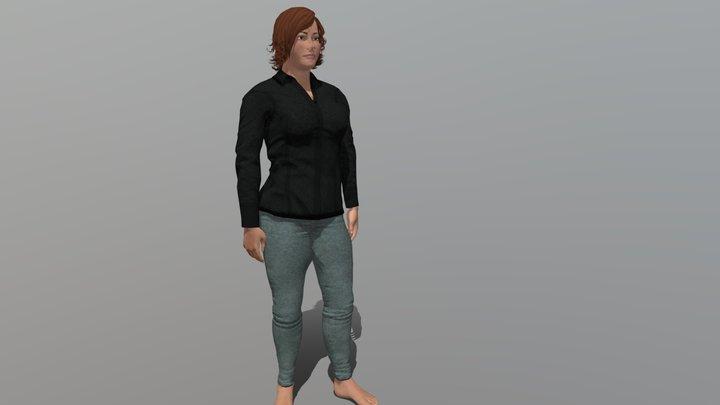 Patty 3D Model