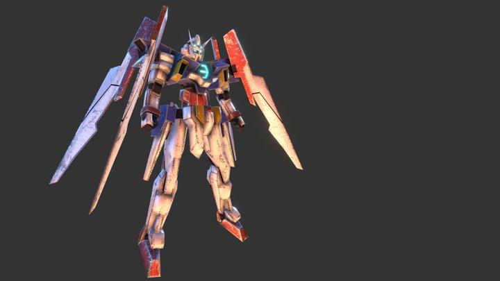 Gundam Age 2 Normal 3D Model