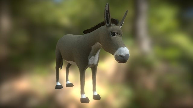 Burro 3D Model