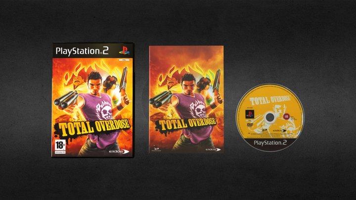 PS2 Total Overdose PAL 3D Model