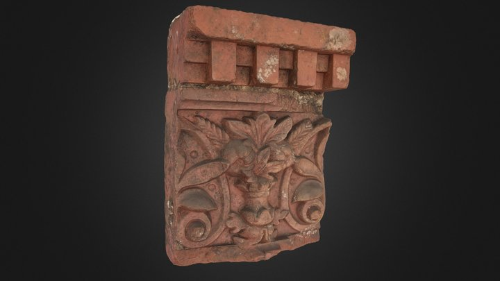 Grosmont terracotta moulding 3D Model