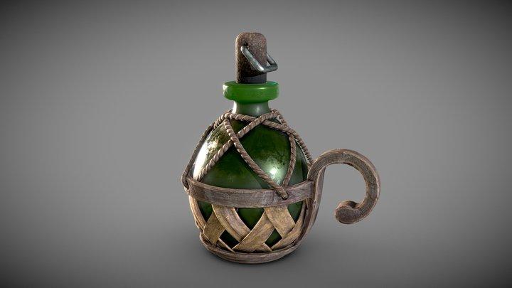 Medieval Flask 3D Model