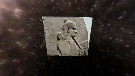 Tiglath-pileser III British Museum London 3D Model
