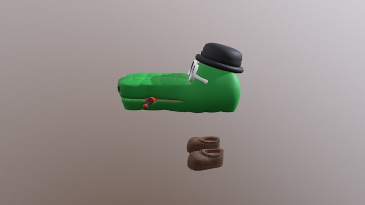 Face And Shoe Updated 3D Model