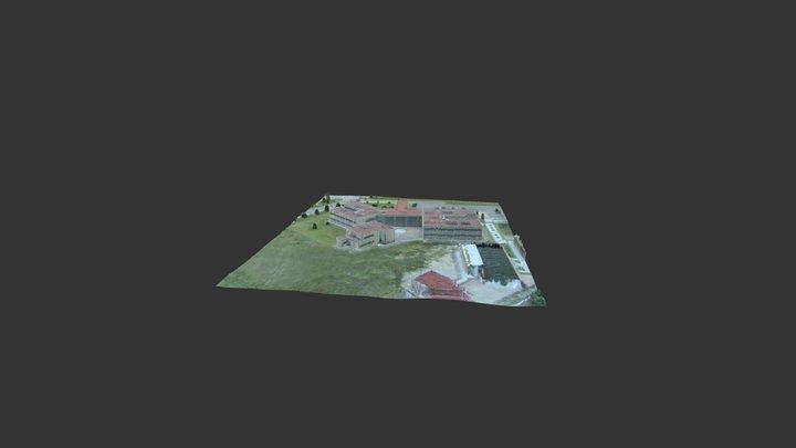 Cinvestav 3D Model