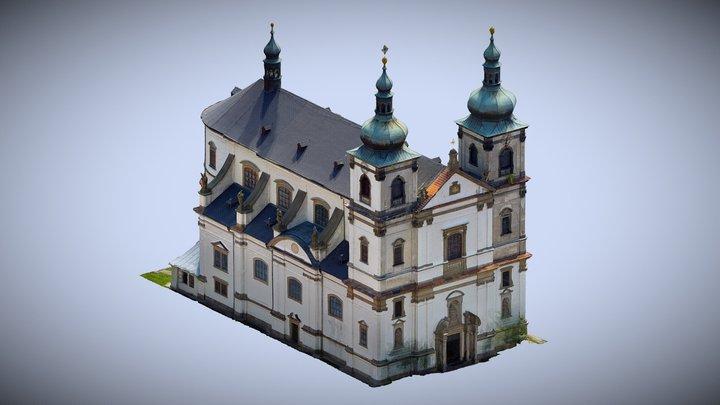 Kostel Bohosudov 3D Model