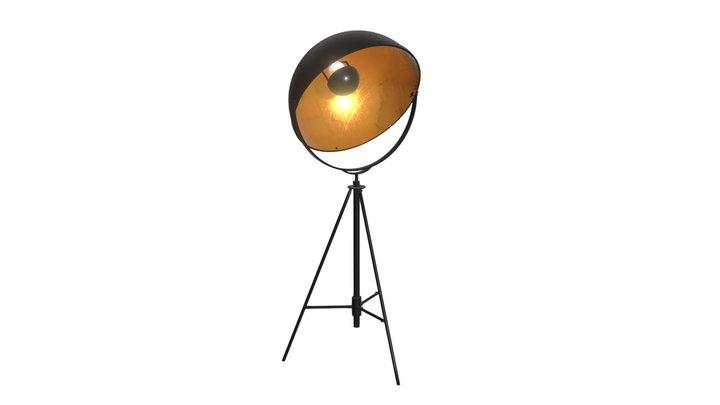 Vauxhall Floor Lamp Antique Black - 56054 3D Model