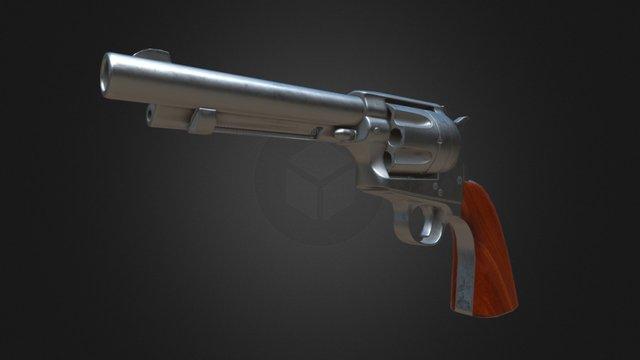 Colt peacemaker 3D Model
