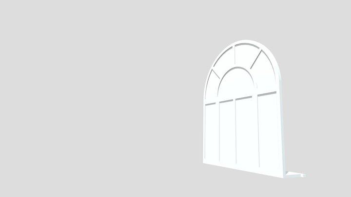 Buildings technologies - window f02_arch 3D Model