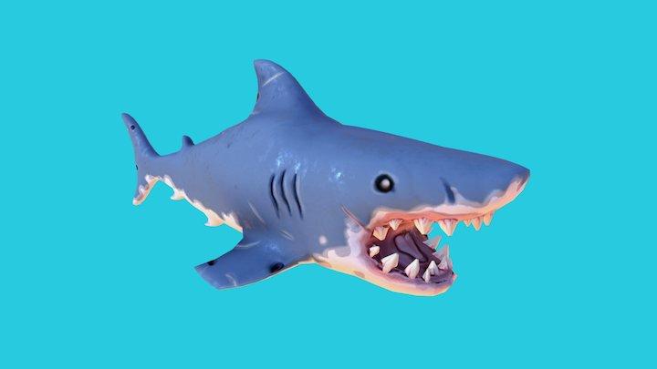 Shark! 3D Model