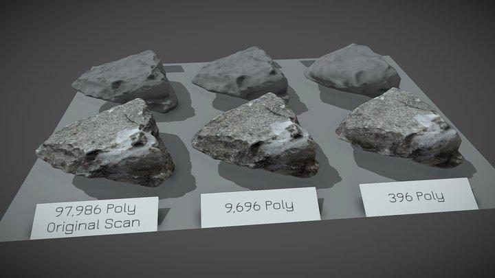 Photogrammetry Rock Test 3D Model