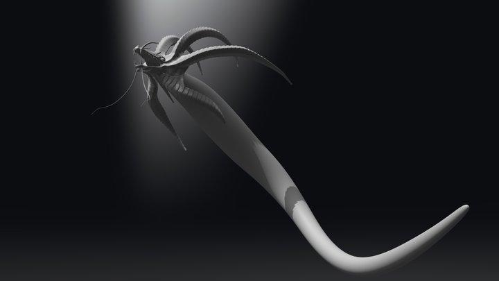 Fansculpt - Subnautica: Gargantuan Leviatan 3D Model