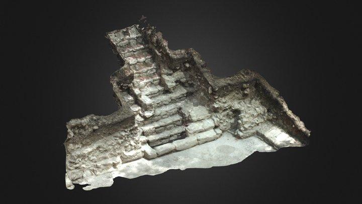 Structure 10 - Xno'ha, Belize 3D Model