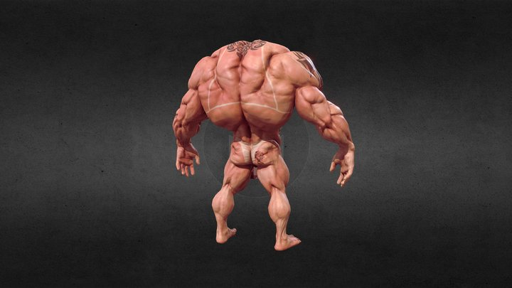 The Steroid! Censored version 3D Model