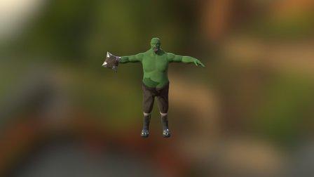 Orc 3D Model