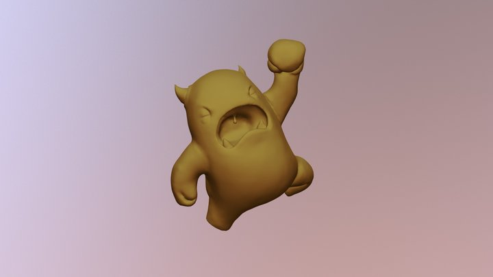 CGCookie Melvin Sculpt 3D Model