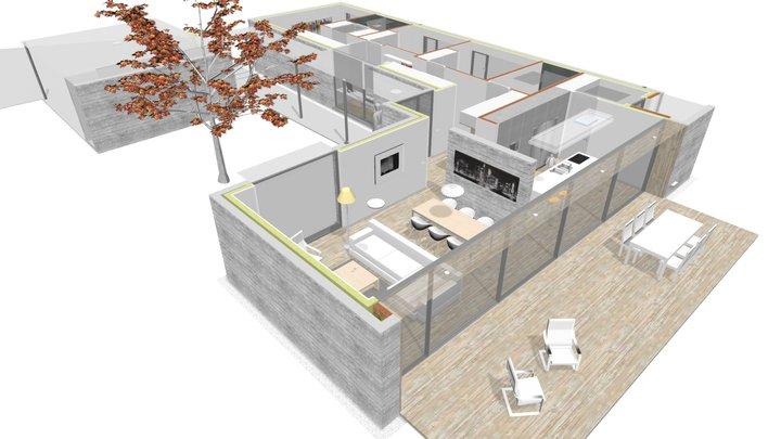 172-17 Vivienda San Isidro (interior) 3D Model