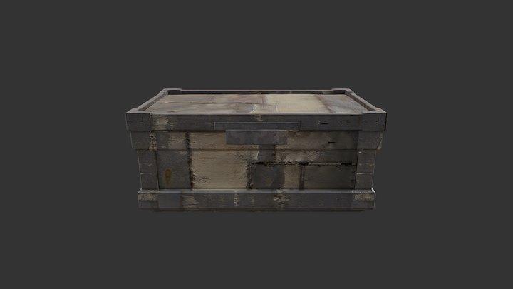 ARMORED CRATE (STEAM WORKSHOP) 3D Model