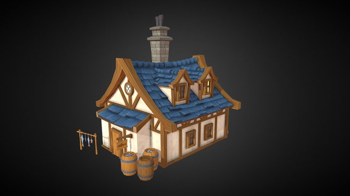 Davorious's Fish Emporium 3D Model