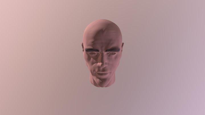 Head 30 charcter design 3D Model