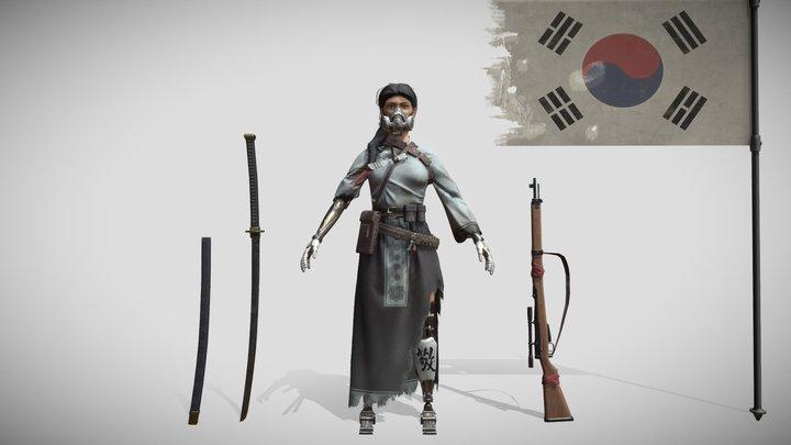 Korean Warrior - Search For A Star 2020 3D Model