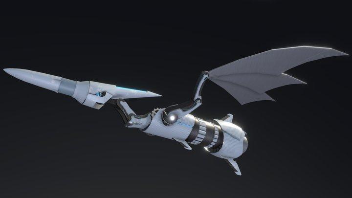 Pteranodon - Mechazoic 3D Model