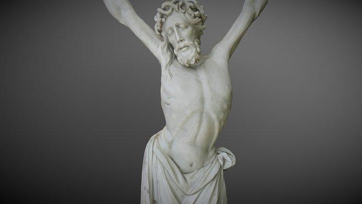 Crucifix Of The Koeru Church 3D Model