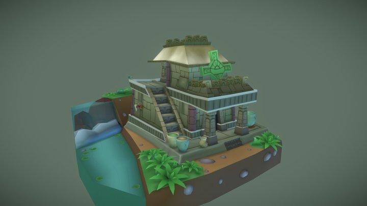 1DAE02_Debbaut_Jamel_GameArtExam 3D Model