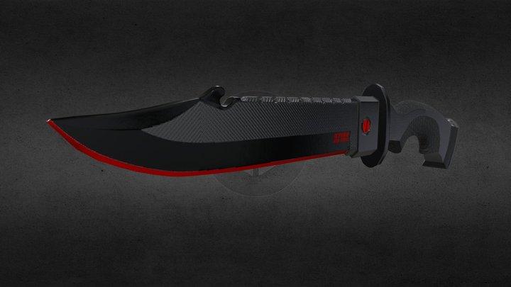 Pisau belati 2 / Dagger 2 3D Model