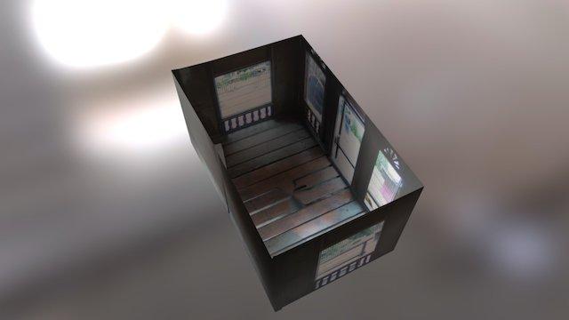 miniature malay house model 3D Model