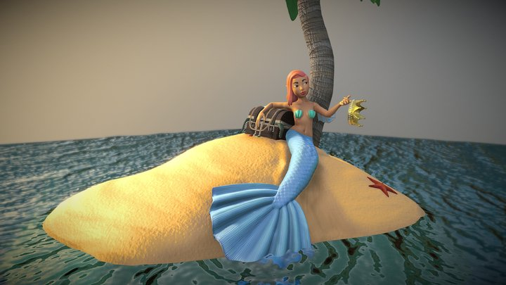 Siren in training 3D Model