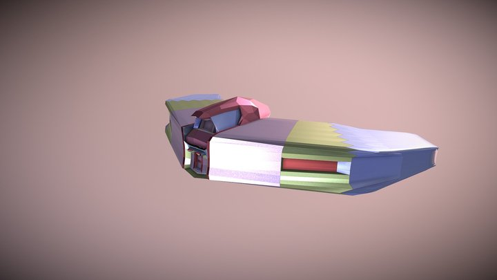Lady Aurora RDX 3D Model