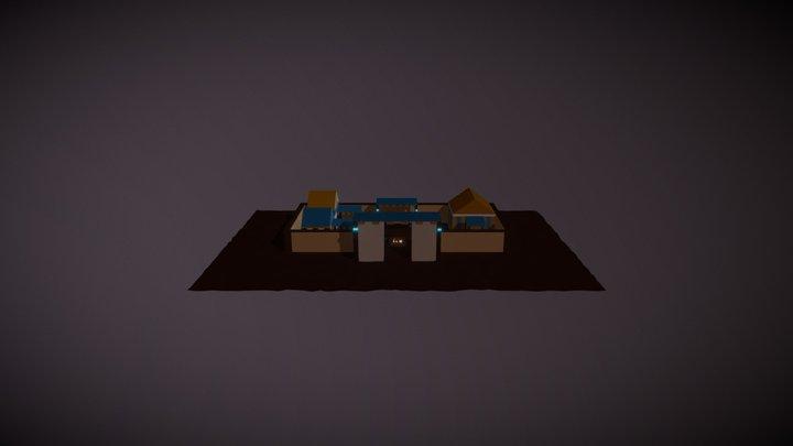 Royal Encampment 3D Model