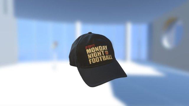 ESPN Hat 3D Model
