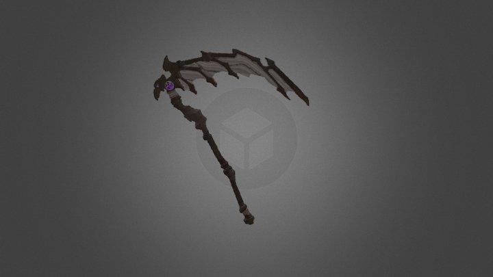 Scythe of Azraël - Minecraft 3D Model