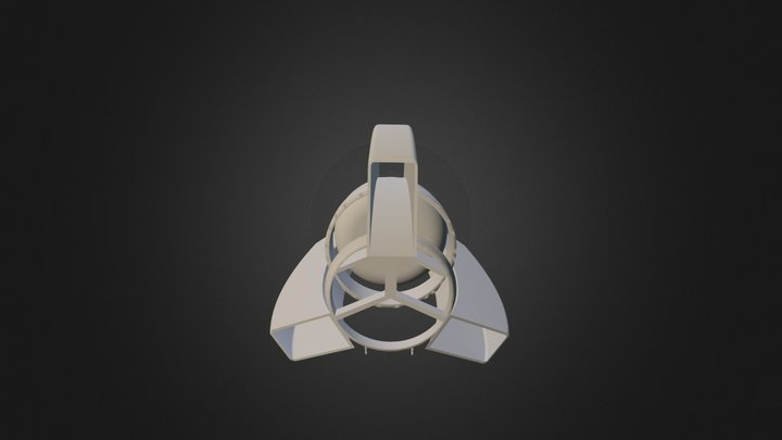 progress air ship  3D Model