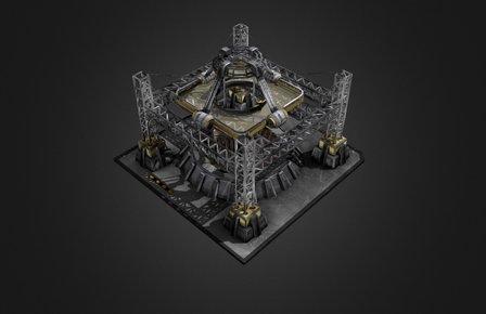 Mining Camp 3D Model