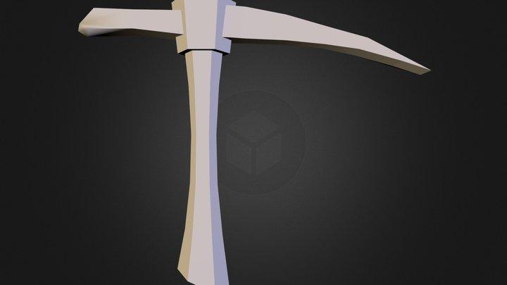 pickaxe.obj 3D Model